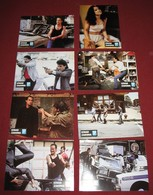 Steven Seagal ABOVE THE LAW Pam Grier  8x Yugoslavian Lobby Cards - Photographs