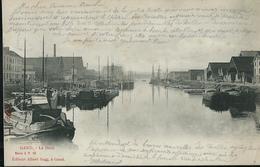 Le Dock   écrite Gand (Station) 22/09/1903 Pour Jamoigne: 23/09/1903 - Gent