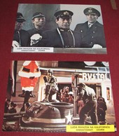 Steven Spielberg 1941 Dan Aykroyd Toshiro Mifune - 2x Yugoslavian Lobby Cards - Photographs