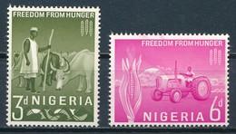 °°° NIGERIA - Y&T N°137/38 - 1963 MNH °°° - Nigeria (1961-...)