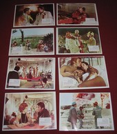Stuart Whitman - Cuibul Salamandrelor -  8x Yugoslavian Lobby Cards - Photographs