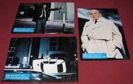 Telly Savalas FAKE OUT Pia Zadora - 3x Yugoslavian Lobby Cards - Foto's