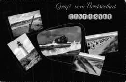 GRUß Vom NORDSEEBAD-LIST Auf SYLT-MULTI IMAGE PHOTO POSTCARD 40034 E - Sylt