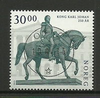 Norway 2013 King Karl Johan 250th Anniv. Central Cancel Y.T. 1765 (0) - Norway