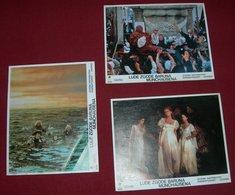 Terry Gilliam THE ADVENTURES OF BARON MUNCHAUSEN 3x Yugoslavian Lobby Cards - Foto's