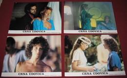 Theresa Russell BLACK WIDOW Debra Winger  -  4x Yugoslavian Lobby Cards - Photographs