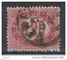 REGNO  VARIETA':  1875  SERVIZIO  -  0.20  LACCA  US. -  CORONA  DX  -  C.E.I.  3 - Dienstpost
