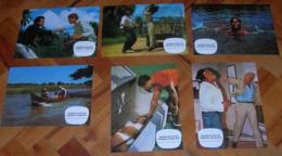 Thomas Adler DER FLUCH DES SCHWARZEN RUBIN   6x Yugoslavian Lobby Cards - Foto's