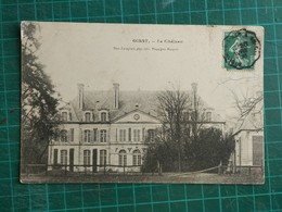80 OISSY Le CHATEAU 1908 - Francia