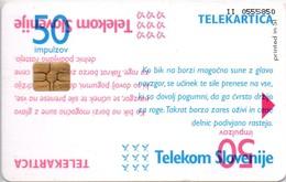 Phone Card Failure In The Press - Telekom Slovenia  - Card  Col:SI-TLS-0176 - Rarely Seen - Slowenien