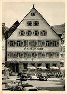 URACH - Markplatz; Hôtel Krone. - Bad Urach