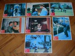 Tiana Alexandra CATCH THE HEAT Rod Steiger  8x Yugoslavian Lobby Cards - Foto's