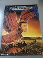 Affiche - Jonny  Hallyday Avec Pub Philips - Posters