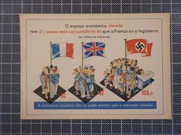 9589A) German Deutsch Reich Economic Propaganda Portuguese Exporters Germany Against France And United Kingdom - Non Classificati