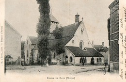 BAYE ( Marne ) - Francia