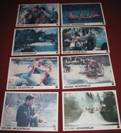 Tim Matheson UP THE CREEK Stephen Furst 8x Yugoslavian Lobby Cards - Photographs
