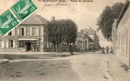 SANDRICOURT ( Oise ) Place Du Calvaire - France