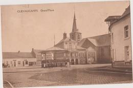 QUEVAUCAMPS - BELOEIL -  GRAND- PLACE -1920 - PUB PARFUMERIE LOCALE - Beloeil