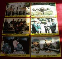 Timothy Hutton TAPS Tom Cruise Sean Penn 6x Yugoslavian Lobby Cards - Foto's
