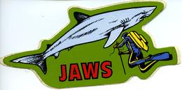 STICKER Autocollant Jaws - Autocollants