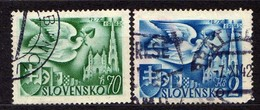 Slowakei / Slovakia, 1942, Mi 102; 104, Gestempelt  [060419XXV] - Slovaquie