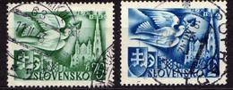 Slowakei / Slovakia, 1942, Mi 102; 104, Gestempelt  [060419XXV] - Slowakische Republik