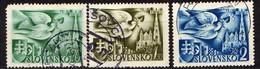 Slowakei / Slovakia, 1942, Mi 102-104, Gestempelt  [060419XXV] - Slowakische Republik
