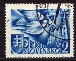 Slowakei / Slovakia, 1942, Mi 104, Gestempelt  [060419XXV] - Slovaquie