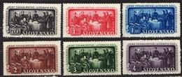 Slowakei / Slovakia, 1942, Mi 105-110 ** [060419XXV] - Slowakische Republik
