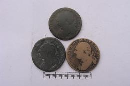 Lot De  3 X 12 Deniers (106) - 987-1789 Monete Reali