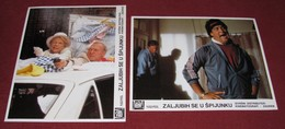 Tom Hanks - The Man With One Red Shoe - Lori Singer - 2x Yugoslavian Lobby Cards - Photographs