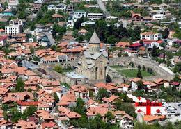 Georgia Mtskheta Svetitskhoveli Cathedral UNESCO New Postcard Georgien AK - Georgien