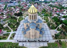 Georgia Tbilisi Holy Trinity Cathedral New Postcard Georgien AK - Georgien