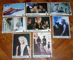 Tom Hulce SLAM DANCE Virginia Madsen - 8x Yugoslavian Lobby Cards - Photographs