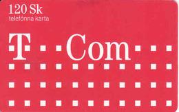 Slovakia - Slovaquie, Chip T Com 120 Sk, 60 Units, Tirage 50 000, Nr. 1/2006 Gebraucht-oblitérée - Slovaquie
