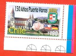 Chile 2002.150th Anniversary Of Puerto Varas. Unused Stamp. - Chile