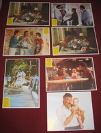 Tom Selleck 3 MEN AND A BABY Ted Danson 7x Yugoslavian Lobby Cards - Photographs