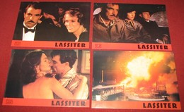 Tom Selleck LASSITER Jane Seymour  4x Yugoslavian Lobby Cards - Foto's