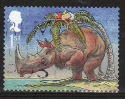 Great Britain 2002  1 X 1st Commemorative Stamp From The Rudyard Kiplings Set. - Usados