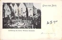 Zeitz Enthüllung Des Kaiser Wilhelm Denkmals 1900 - Zeitz