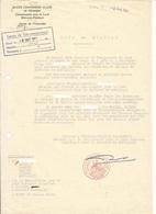 Haute Commission Alliée En Allemagne - Intérim Du District De Montabaur, Cercle D'Unterlahn 1952 - Documents