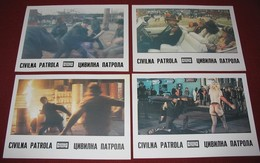 Tom Skerritt FIGHTING BACK Patti LuPone  4x Yugoslavian Lobby Cards - Foto's