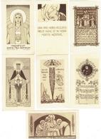 Image Pieuse - Lot 12 - Abbaye De Maredret Belgique NOTRE DAME DE GRACE VIERGE église Berzee Lettre Alphabet Décorée - Images Religieuses