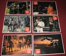Tom Skerritt OPPOSING FORCE Lisa Eichhorn 6x Yugoslavian Lobby Cards - Foto's