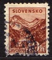 Slowakei / Slovakia, 1940/43, Mi 75 Y B, Gestempelt [060419XXV] - Slovaquie