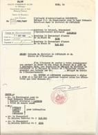 Haute Commission Alliée En Allemagne - Note De Service Intérim Du District De Montabaur 1952 - Documenten