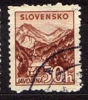 Slowakei / Slovakia, 1940/43, Mi 75 Y A, Gestempelt [060419XXV] - Slowakische Republik