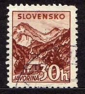 Slowakei / Slovakia, 1940/43, Mi 75 Y A, Gestempelt [060419XXV] - Slovaquie