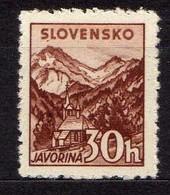 Slowakei / Slovakia, 1940/43, Mi 75 Y A * [060419XXV] - Slowakische Republik