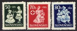 Slowakei / Slovakia, 1943, Mi 112-114 ** [060419XXV] - Slowakische Republik